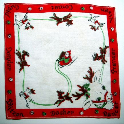 Child's Christmas Hankie – Goldmine or Giggles?